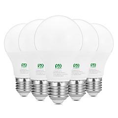 9W E26/E27 Bombillas LED de Globo 18 SMD 2835 800-900 lm Blanco Cálido Blanco Decorativa AC100-240 V 5 piezas