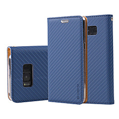 Samsung Galaxy Note 5 4 huomautuksen tapauksessa peitä verkkoon viljan PU nahka tapauksissa