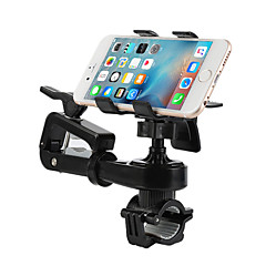 Phone Holder Stand Mount Outdoor Bike Motorcycle Handlebar Adjustable Stand Plastic for Mobile Phone