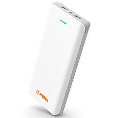 Teclast® T200E 10000mAh LED Power Bank 5V 2.1A External Multi-Output with Cable QC 2.0  Flashlight Automatic Adjusted Current