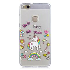 Huawei p10 p10 lite burkolata minta hátlapot tok Unicorn soft TPU
