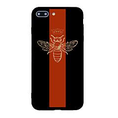 Voor iphone 7 plus 7 case cover patroon achterkant behuizing dier cartoon soft tpu voor iphone 6s plus 6 plus 6s 6 5s 5 se