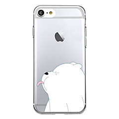 Voor iphone 7 plus 7 case cover patroon achterkant behuizing dier cartoon soft tpu voor iphone 7 6s plus 6 plus 6s 5s 5 se