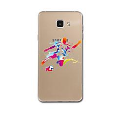 Samsung Galaxy a7 (2017) s5 suojus kuvio takakansi tapauksessa piirretty väri kaltevuus pehmeä TPU Samsung Galaxy a7 a5 (2017) s6 s7