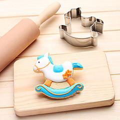 1 Forma do pieczenia Cartoon Shaped spanie dziecka na ciasto dla czekolady na chleb Dla Cookie Dla Sandwich Stal nierdzewnaDIY 3D Wysoka