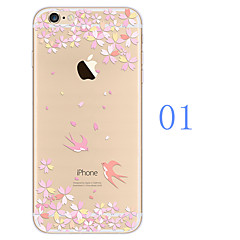 The TPU Painted Mobile Phone Protects The Soft Shell for The iPhone Series