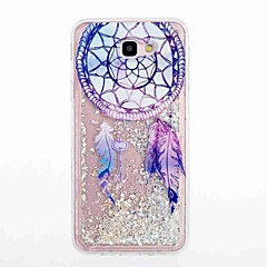 For Samsung Galaxy J5 Prime J5 (2016) Flowing Liquid Pattern Case Back Cover Case Dream Catcher Soft TPU for J7 Prime J7 (2016) J5 J3 J3 (2016)