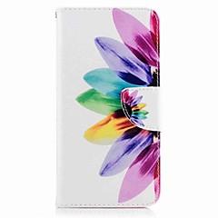 Voor huawei p10 plus p10 lite case hoesje kaarthouder portemonnee met tribune flip patroon hoesje full body hoesje bloem hard pu leer