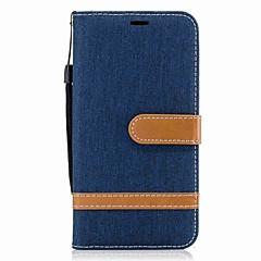 Voor lg g6 k10 behuizing kaarthouder portemonnee met standaard flip magnetisch full body case hard textiel voor lg k8 k7