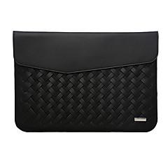 Ærmer for MacBook Air 11-tommer MacBook Helfarve PU-læder Materiale