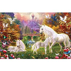 Jigsaw Puzzles Jigsaw Puzzle Building Blocks DIY Toys Square Wood Leisure Hobby