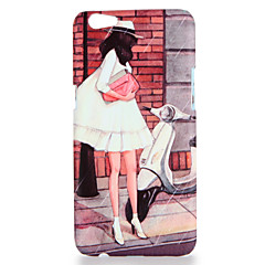 Til oppo r9s r9s plus case cover mønster bagside cover sexy lady hard pc r9 r9 plus