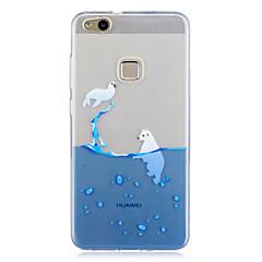 Huawei p10 p10 lite lefedik áttetsző minta hátlapját esetében játszik alma logó puha TPU