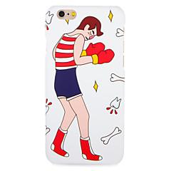 Voor apple iphone 7 7plus case cover patroon achterhoes case cartoon harde pc 6s plus 6 plus 6s 6 5s 5