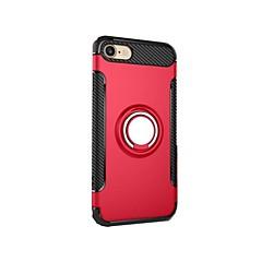 iPhone 7 plusz 7 lefedik ütésálló állvánnyal gyűrűt tartó hátlapot esetben páncél kemény pc iphone 6s plus 6 5 5s se