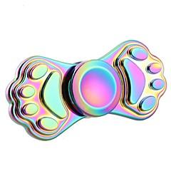 Stresszoldó pörgettyűk Kézi Spinner Búgócsiga Játékok Játékok Ring Spinner Fém EDCStressz és szorongás oldására Focus Toy Office Desk