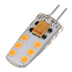 6W LED-lampor med G-sockel T 12 SMD 2835 200-300 LM Varmvit Kallvit AC 12 V 1 st