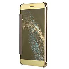 Huawei P8 lite (2017) p10 burkolata galvanizáló tükör csepp kagylómobilját esetben P9 P8 P9 p10 lite G8 társ 7 8 9 g7 plusz becsület 8 5c
