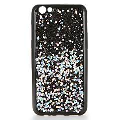 Til oppo r9s r9s plus case cover diy bagside cover glitter shine soft tpu r9 r9 plus