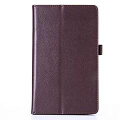 Voor case cover met standaard flip full body case solide kleur soft leather voor lg g pad 3 8.0 v525