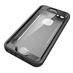 Voor apple iphone 6s plus case cover water / vuil / shock proof full body case vaste kleur harde pc 6 plus 6s 6