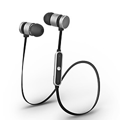 Cwxuan® Magnetic Adsorption Bluetooth Wireless Sport Metal In-Ear Earphone with Mic / Volume Control