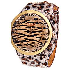 Γυναικεία Μοδάτο Ρολόι Μοναδικό Creative ρολόι Προσομοίωσης Ρόμβος Ρολόι Κινέζικα Χαλαζίας απομίμηση διαμαντιών Δέρμα ΜπάνταΛάμψη