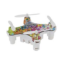 Drone CX-10D 4CH 6 Eixos - Iluminação De LED Retorno Com 1 Botão Modo Espelho Inteligente Vôo Invertido 360°Quadcóptero RC Controle