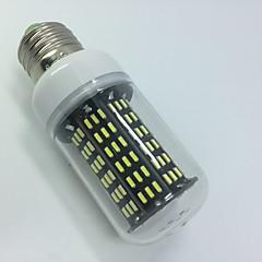 10W AC220-240V White Warm white E14 E27 LED Corn Lights T 158 SMD 4014 1000 lm   Decorative  Segmented dimmer 1 pcs