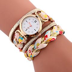 Dames Kinderen Sporthorloge Armbandhorloge Unieke creatieve horloge Vrijetijdshorloge Chinees Kwarts Kleurrijk Stof Band
