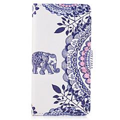 Taske til Sony Xperia x xa tilfælde dækker elefant mønster pu læder tasker til Sony Xperia x Compact Xz Premium Z5 Premium m2 M4 Aqua Xa1
