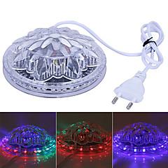 elképesztő ufo hordozható lézer rivaldafény 5w RGB 48 LED napraforgó led világítás fali lámpa KTV dj party esküvő ac90-240v