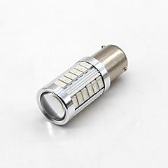 4X 1156 BAU15S PY21W LED 33SMD Daytime Running Lights Amber Orange Yellow Bulbs