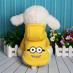 Koira College Koiran vaatteet Rento/arki Sarjakuva Purppura Keltainen Punainen Sininen
