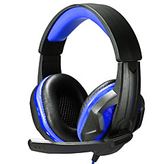 SOYTO Luminous Headphones Stereo Gaming Headphone Wired Headset Fone De Ouvido Auriculares Foldable Earphones Audifonos With Mic for PC Mobile Phones