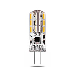 2.5W White Warm White Natural White LED Bi-pin Lights T G4 24 SMD 4014 140-150 lm Decorative AC/DC12V 1 pc