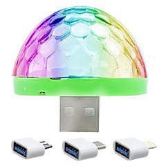 Karácsonyi világítás LED éjszakai fény USB fények-5W Érzékelő Színváltós - Érzékelő Színváltós