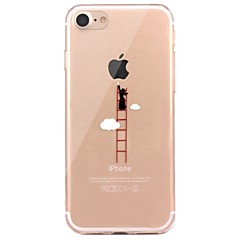 Case For IPhone 7 6 Playing With Apple Logo TPU Soft Ultra-thin Back Cover Case Cover iPhone 7 PLUS 6 6s Plus SE 5s 5 5C 4S 4