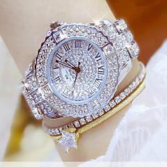 Dame Kjoleur Modeur Armbåndsur Unik Creative Watch Casual Ur Simuleret Diamant Ur Diamantbelagt ur Kinesisk Quartz Kronograf