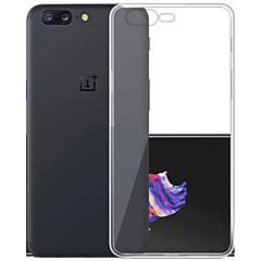 Asling case for oneplus 5 capa de capa ultra-fina capa de capa transparente transparente tpu transparente