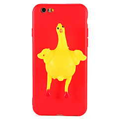 Case For iPhone 7 Plus 7 Squishy DIY Case Back Cover Case Chicken Egg 3D Cartoon Soft TPU Case for iPhone 6 6s 6 Plus 6s Plus