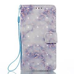 Lg k8 (2017) k10 (2017) tok borító kék minta 3d festett kártya stent pénztárca telefon tok lg k7 k8