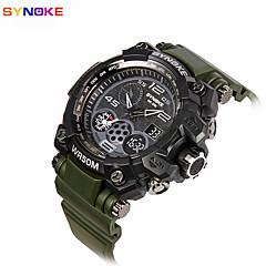 Dam Herr Sportsklocka Militärklocka Frackur Smart klocka Modeklocka Armbandsur Unik Creative Watch Digital klocka Kinesiska Quartz Digital