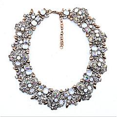 Dame Krave Akvamarin Rubin Multi-sten Krystal Kvadratisk Zirconium Imiteret Diamant Cirkelformet Rund form Krystal Enkelt design