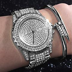Damskie DZIECIĘCE Modny Zegarek na bransoletce Unikalne Kreatywne Watch Na codzień Sztuczny Diamant Zegarek Zegarek Pave Chiński Kwarcowy