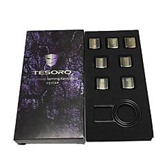 Tesoro k3 7 sleutels metal gaming keycaps ingesteld voor mechanisch toetsenbord
