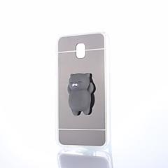 Hoesje voor Samsung Galaxy J7 2017 Squishy Diy Stress Reliëf Geval achterkant hoesje schattig 3D cartoon Soft TPU Hoesje voor Samsung
