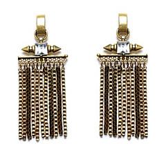 Damskie Kolczyki wiszące Osobiste Ponadgabarytowych Bling Bling Modny Stop Taper Shape Biżuteria Na Casual Klubowa Randka