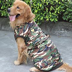 Kutya Pulóver Kutyaruházat Casual/hétköznapi Csík Terepszínű