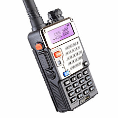5w 128 καναλιών ραδιόφωνο δύο δρόμων baofeng uv-5re για το κυνήγι διπλής οθόνης fm vox uhf vhf ραδιοφωνικός σταθμός cb ραδιόφωνο